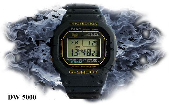 Часы G-SHOCK DW-5000