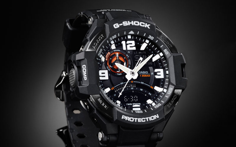 часы Casio G-SHOCK GA-1000-1А