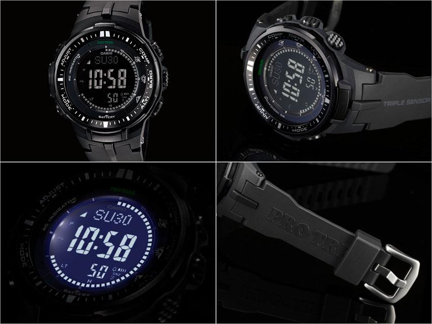 часы ProTrek PRW-3000
