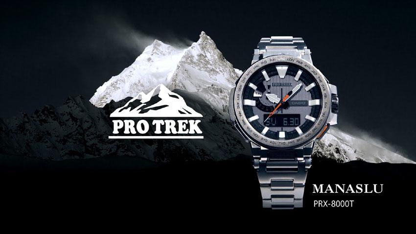 часы protrek PRX-8000T
