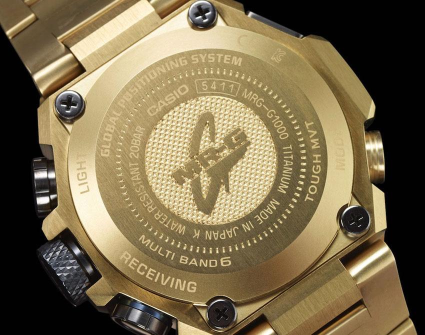 золотые часы G-Shock MRG-G1000HG-9A
