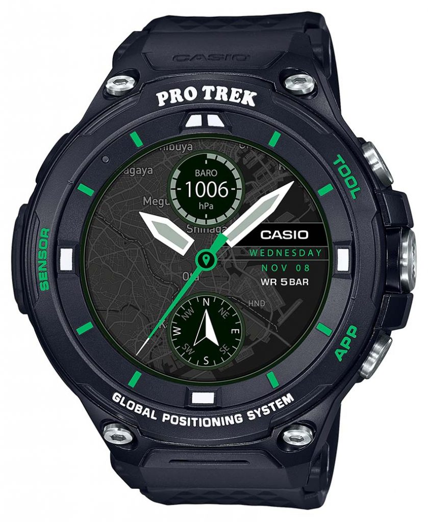 часы Pro Trek WSD-F20X Limited Edition