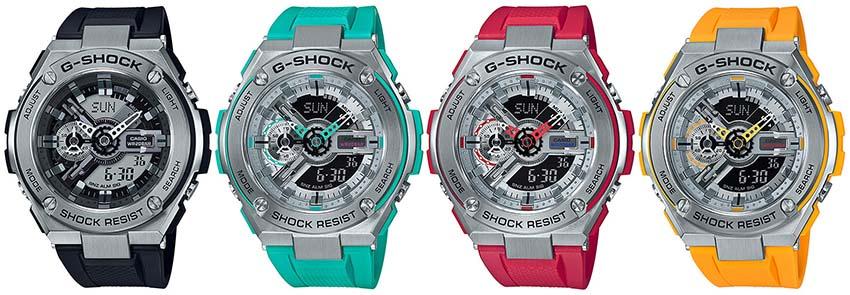 G-Shock G-STEEL GST-410 Series