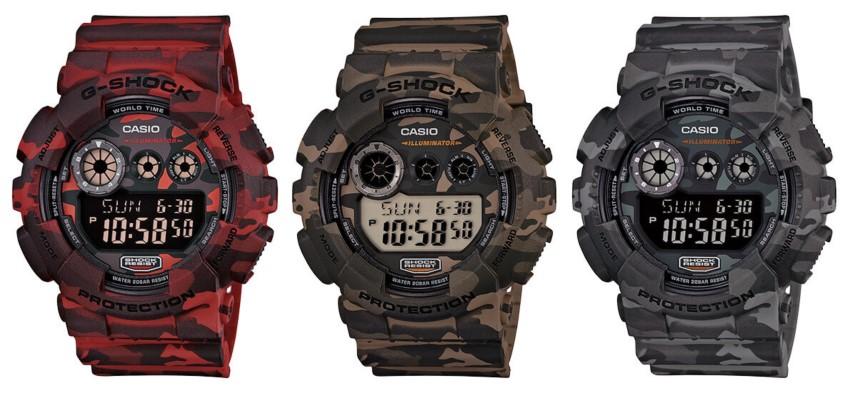 часы G-Shock GD-120CM