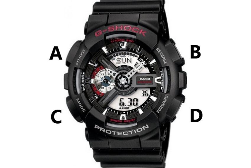 кнопки G-Shock GA-110