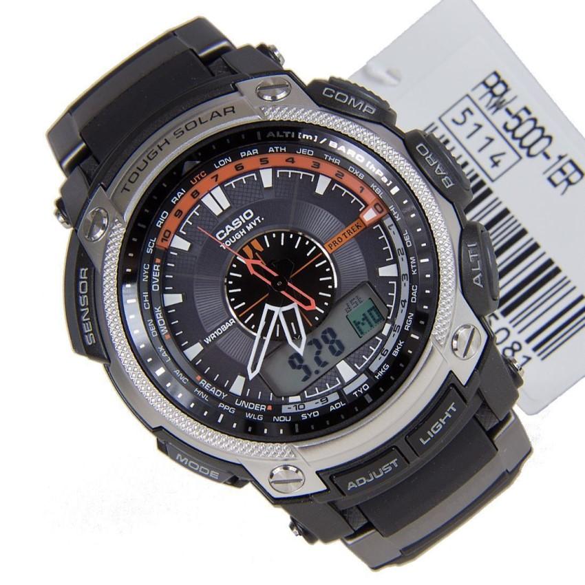 туристические часы Pro Trek PRW-5000