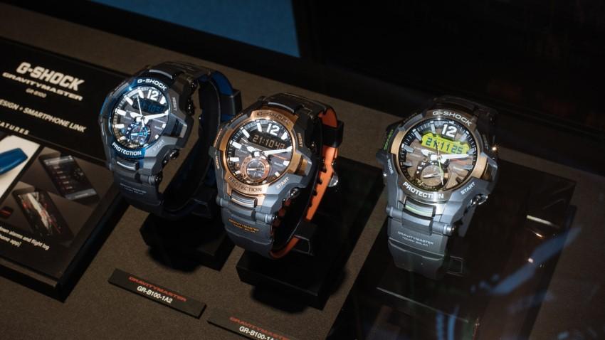 часы G-Shock GR-B100