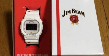 упаковка Jim Beam x G-Shock DW-5600