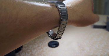 укоротить браслет на часах Casio